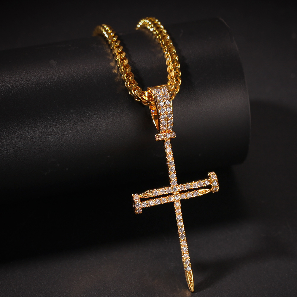 Cuban Holy Cross Men's Chain - Gifts For Him Under $500