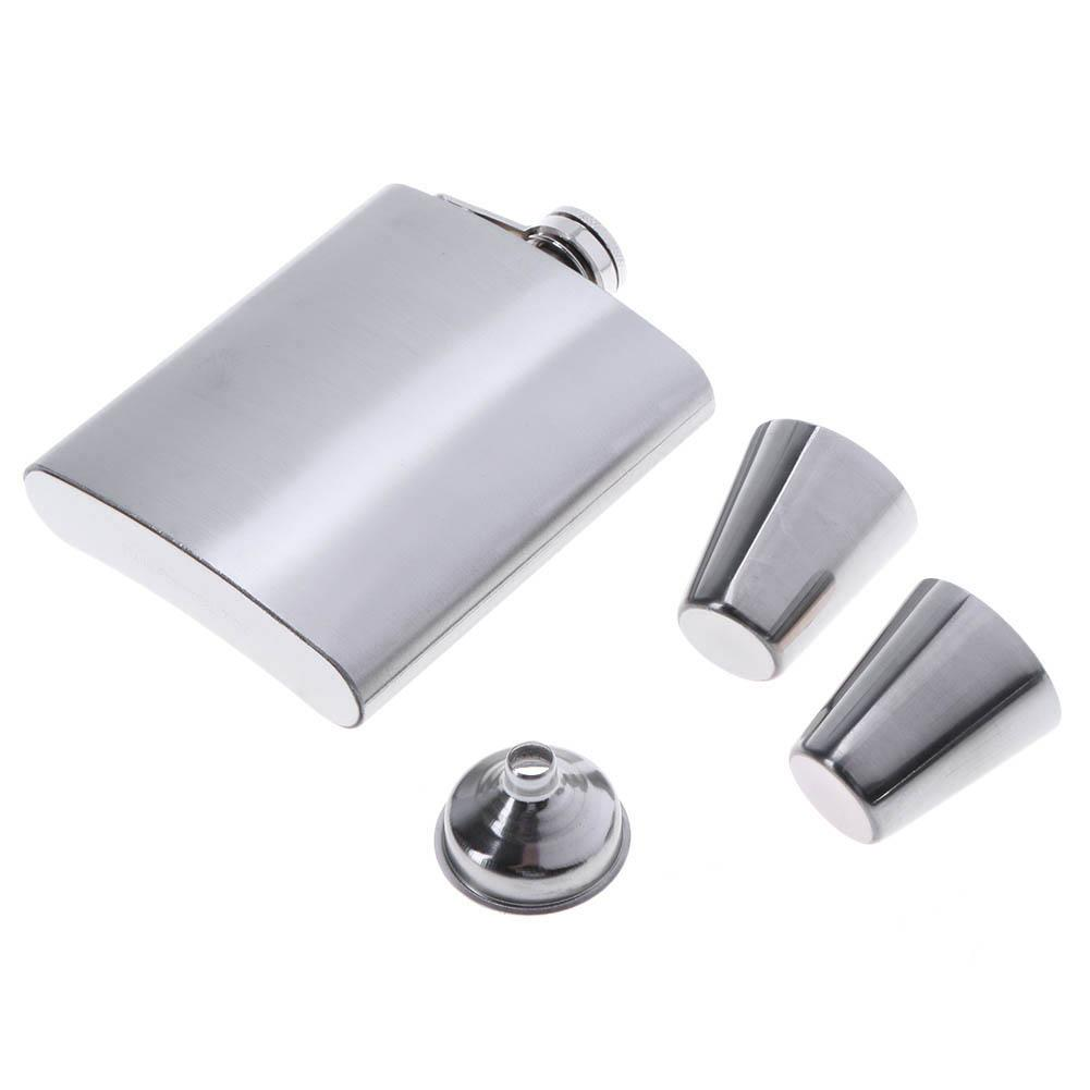 Portable Stainless Steel Flask - novariancreations.com