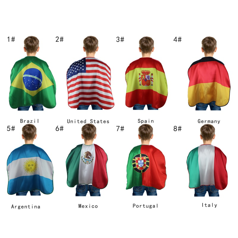 World flags Capes