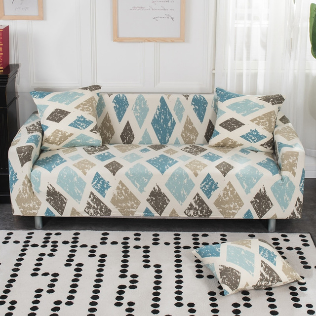 Printed Cheap Sofa Cover Stretch Couch Covers Bench Cover Love-seat Sofa Bed Cover Anti-pets Funiture All Warp Sofa Towel