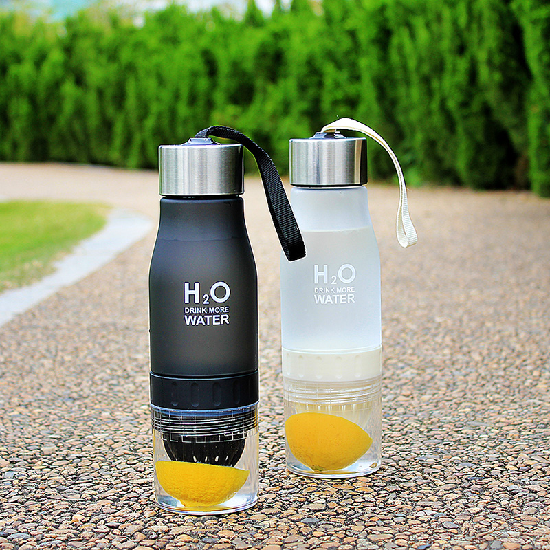 Fruit Infusion Water Bottle Gift 650ml Infuser Water Bottle Plastic Fruit Infusion Kids Drink Outdoor Sports Bottle Juice Lemon Portable Kettle - Toolsneeds.com