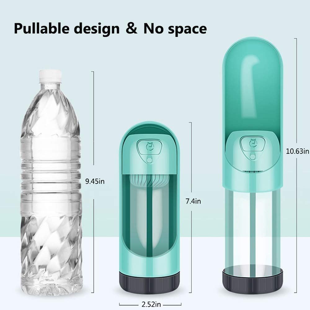 Portable Leak Proof cat, and puppy water bottle - LaViemate
