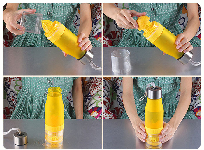 what to put in a fruit infuser water bottle- Laviemate