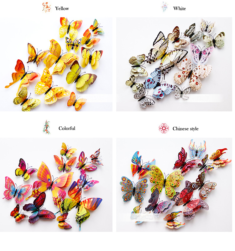 wall stickers butterfly - LaViemate