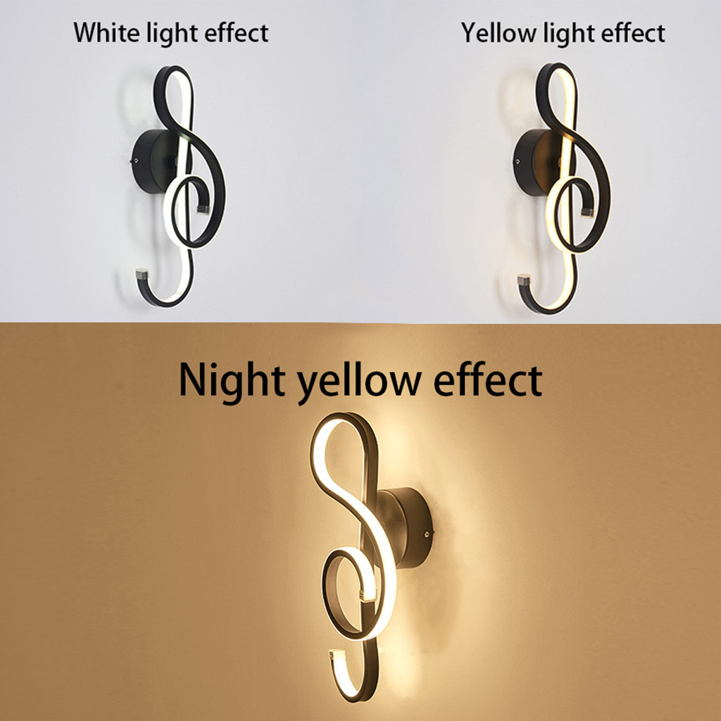 Musical Clef Modern Wall Lamp - Wall Lamps