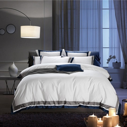 Cotton Pure White Duvet Bedding Set - Novarian Creations