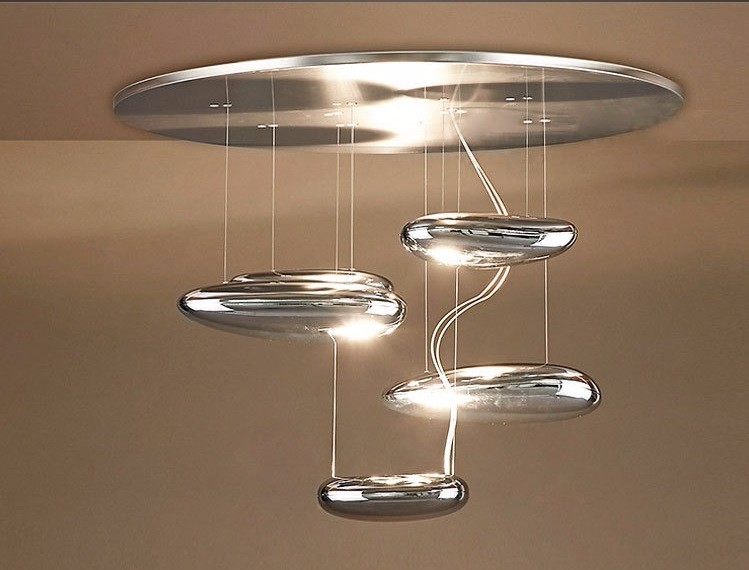 Space Water Drop Modern Ceiling Lamp - Ceiling Lamps