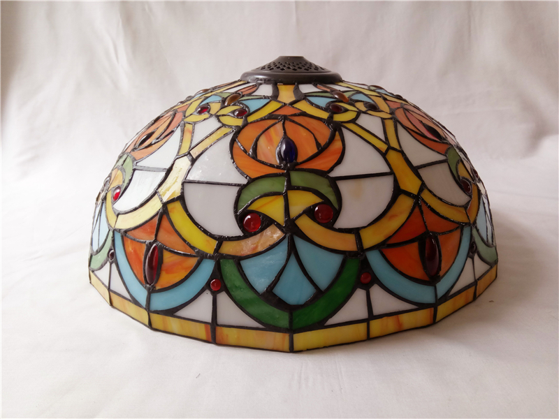 Stained Glass Crystal Parrot Pendant Ceiling Lamp - Ceiling Lamps