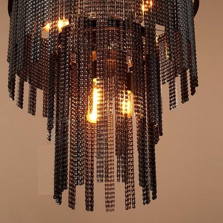 Drop-light Industrial Chain Edison Ceiling Lamp - Lamps & Lighting
