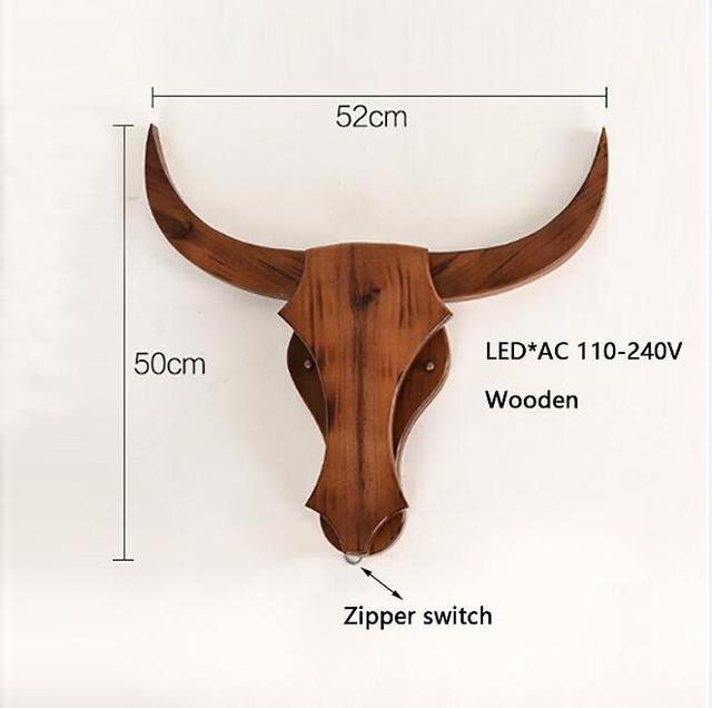 Mighty Bull Retro Wall Lamp - Wall Lamps