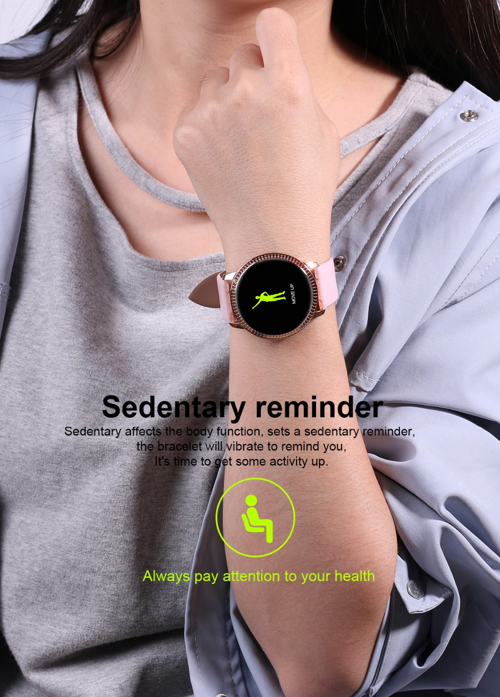 Smart Watch sport montre intelligente pour ios Android