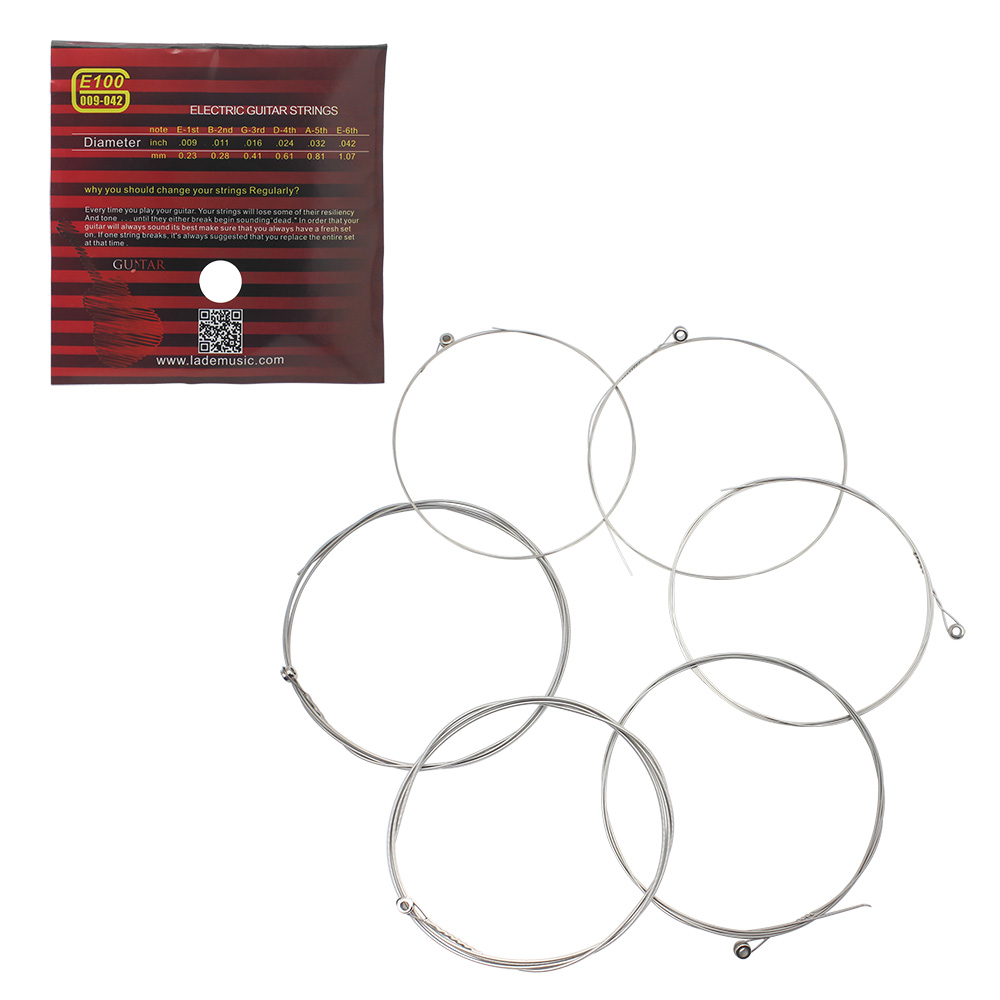 Inexpensive guitar strings; cheap electric guitar supplies and equipment