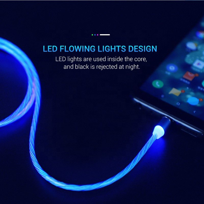 light up iphone charger - Laviemate