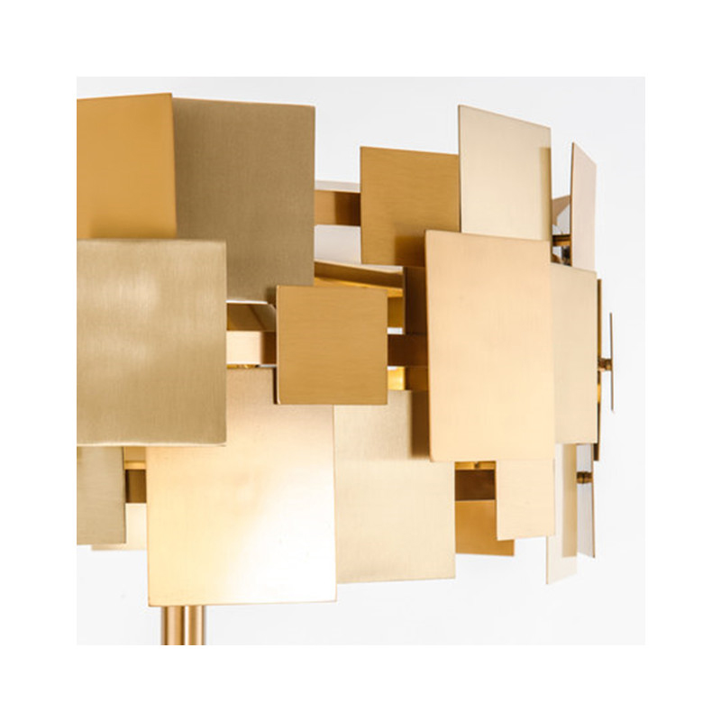 Golden De Piso Floor Lamp - Lamps & Lighting