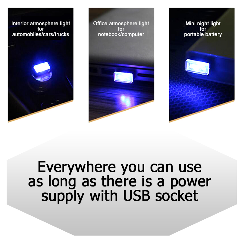 Come by our website and check out these cool auto-accessories!  Just another little perk to make you stand out in the crowd; take a look at these stealthy and discrete mini vehicle mood-lights; unobtrusive LED lighting powered by any USB port (the LED mini vehicle mood-lights can also be used in charge ports, USB power adapters, mobile devices, laptops, personal desktop computers and portable power banks. Three bright and dazzling colors of cool LED in-store for you to check out!