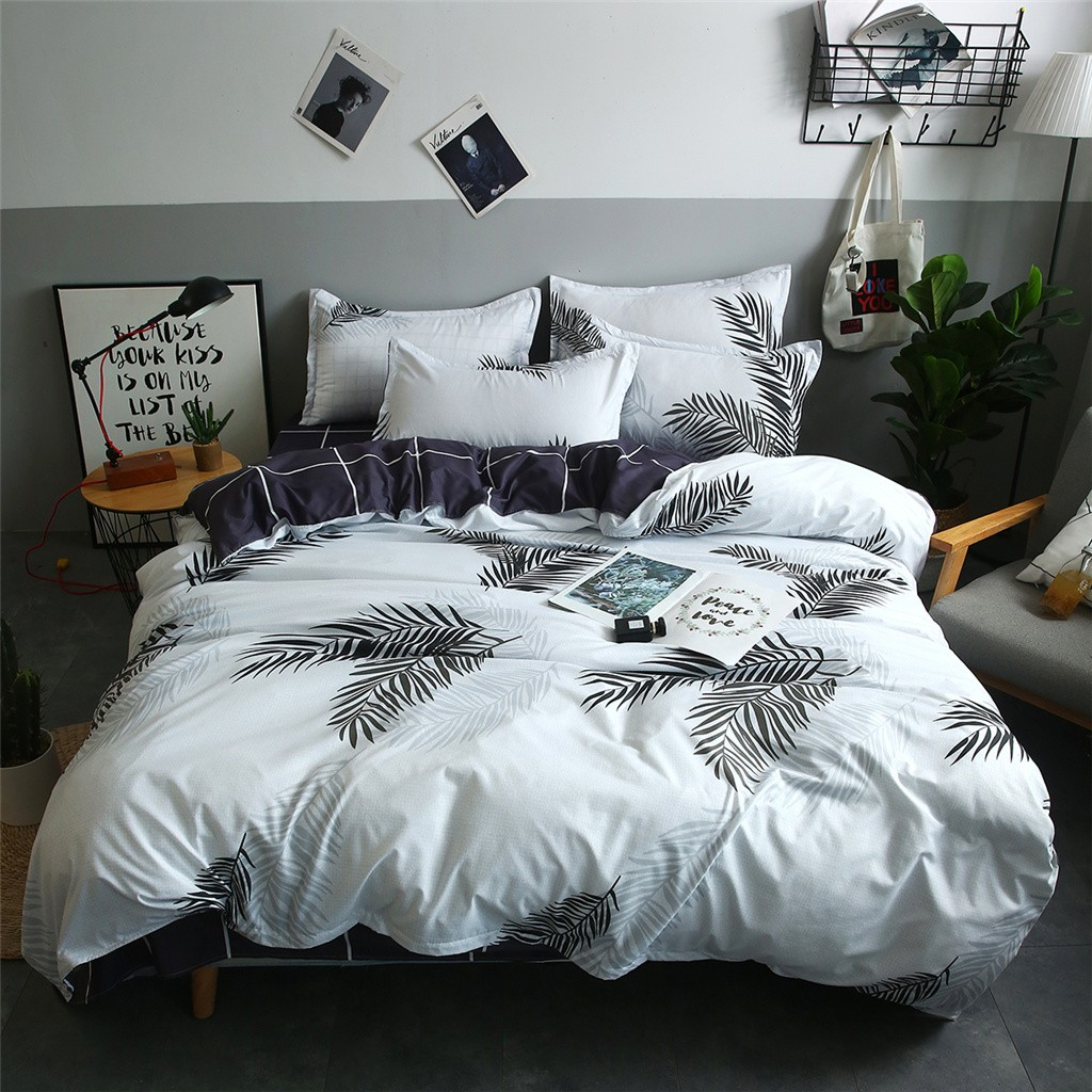 Embroidered Boutique Bedding Set - Bed & Bath