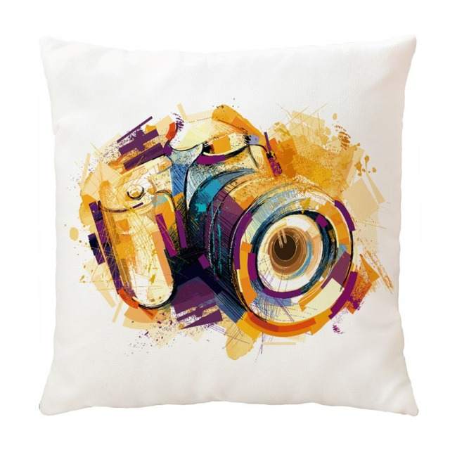 Modern Style Throw Pillow Cover